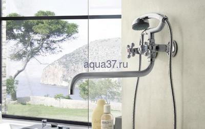 Смеситель для ванны Frap F2619-1 (фото, вид 1)