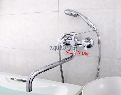 Смеситель для ванны Frap F2618 (фото, вид 8)