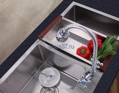 Смеситель для кухни Frap F4319 (фото, вид 1)
