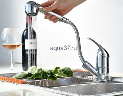 Смеситель для кухни Frap F6003 (фото, вид 11)