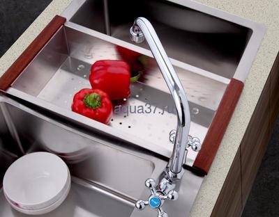 Смеситель для кухни Frap F4019 (фото, вид 7)