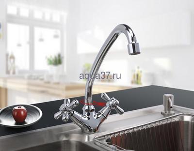 Смеситель для кухни Frap F4125 (фото, вид 5)