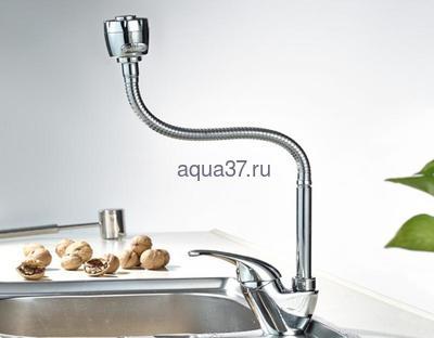 Смеситель для кухни Frap F4303 (фото, вид 6)