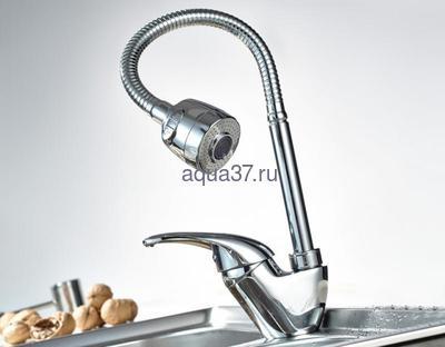 Смеситель для кухни Frap F4303 (фото, вид 8)