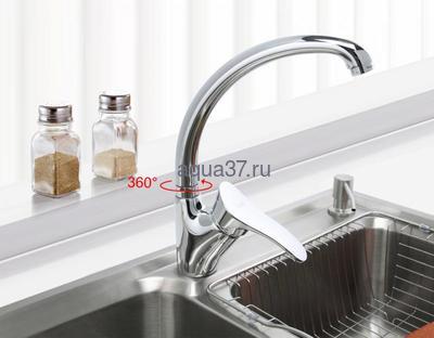 Смеситель для кухни Frap F4101-2 (фото, вид 5)