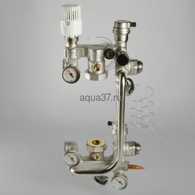 Насосно-смесительный узел для тёплого пола Combi Valtec (фото, вид 1)
