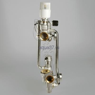 Насосно-смесительный узел для тёплого пола Combi Valtec (фото, вид 4)