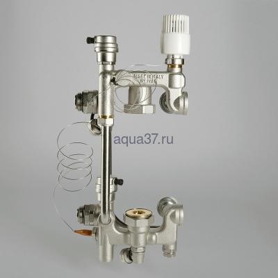Насосно-смесительный узел для тёплого пола Combi Valtec (фото, вид 7)