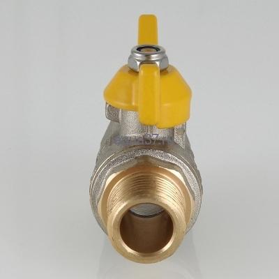 """Кран газовый 1/2"""" г/ш бабочка Valgas Valtec (фото, вид 1)"""