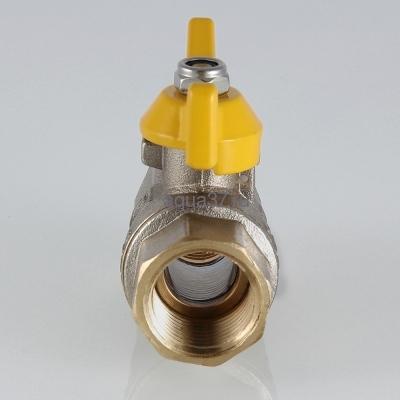 """Кран газовый 1/2"""" г/г бабочка Valgas Valtec (фото, вид 1)"""