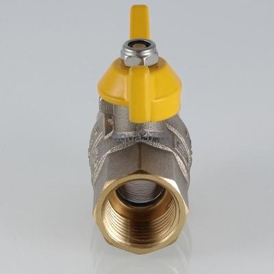 """Кран газовый 3/4"""" г/г бабочка Valgas Valtec (фото, вид 5)"""