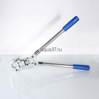 Пресс инструмент ручной с комплектом насадок 16-20-26-32 Valtec (фото, вид 5)