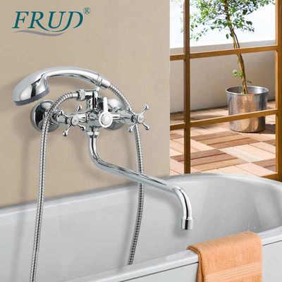 Смеситель для ванны Frud R22108 (фото, вид 4)