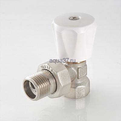 """Клапан регулировочный угловой компактный 3/4"""" Valtec (фото, вид 2)"""