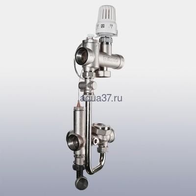 Насосно-смесительный узел для тёплого пола Valmix Valtec (фото, вид 3)