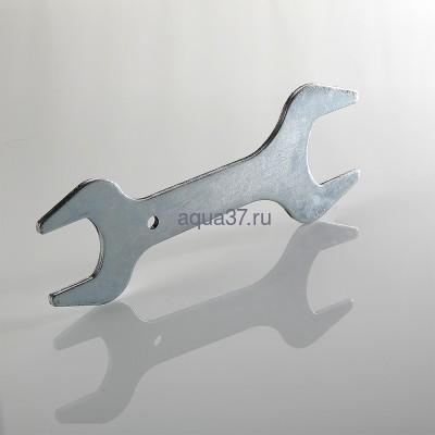 """Ключ для сдвоенного ниппеля 1"""" x 1 1/4"""" (фото, вид 2)"""