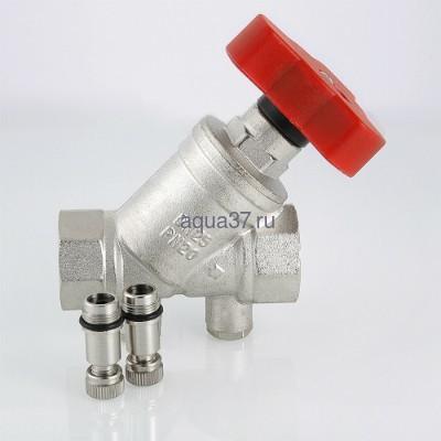 """Клапан балансировочный ручной 1"""" Valtec (фото, вид 7)"""