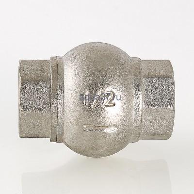 """Клапан обратный с латунным золотником 1/2"""" Valtec (фото, вид 3)"""