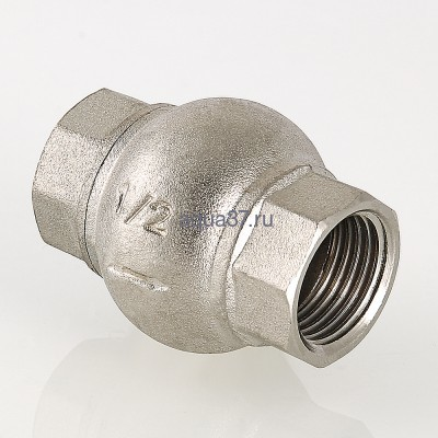 """Клапан обратный с латунным золотником 1/2"""" Valtec (фото, вид 4)"""