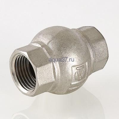 """Клапан обратный с латунным золотником 1/2"""" Valtec (фото, вид 6)"""