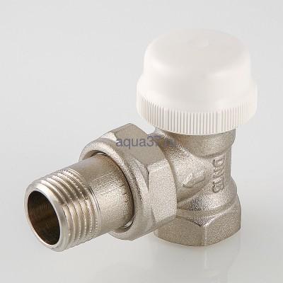 """Клапан термостатический угловой 1/2"""" Valtec (фото, вид 2)"""