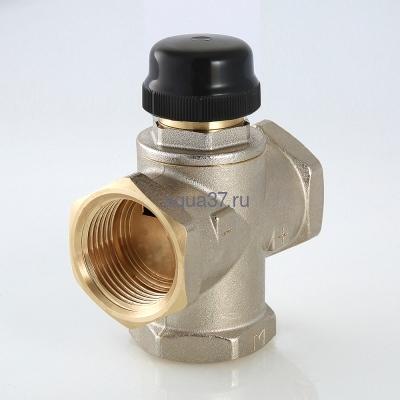 """Клапан трехходовый смесительный 1"""" с центральным смешиванием Valtec (фото, вид 7)"""