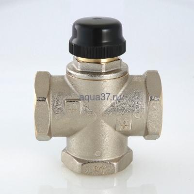 """Клапан трехходовый смесительный 1"""" с центральным смешиванием Valtec (фото, вид 8)"""