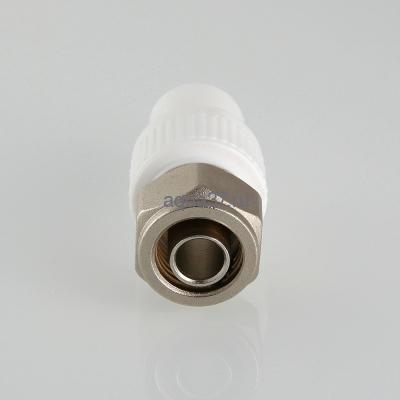 Соединитель коллекторный полипропиленовый 20 для РЕХ трубы 16 Valtec (фото, вид 1)