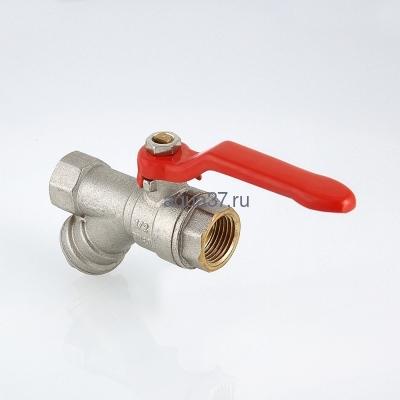 """Кран шаровой с фильтром 1/2"""" г/г ручка Valtec (фото, вид 4)"""