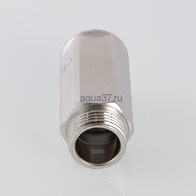 """Удлинитель 15 мм никелированный 1/2"""" Valtec (фото, вид 6)"""