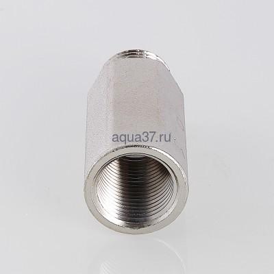 """Удлинитель 50 мм никелированный 1/2"""" Valtec (фото, вид 2)"""