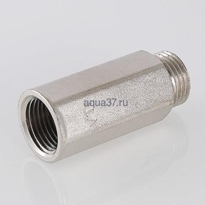 """Удлинитель 50 мм никелированный 1/2"""" Valtec (фото, вид 3)"""