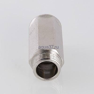 """Удлинитель 50 мм никелированный 1/2"""" Valtec (фото, вид 6)"""