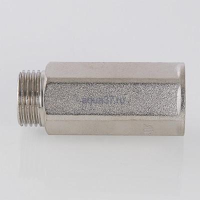 """Удлинитель 50 мм никелированный 1/2"""" Valtec (фото, вид 8)"""
