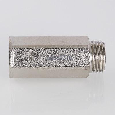 """Удлинитель 20 мм никелированный 1/2"""" Valtec (фото, вид 4)"""