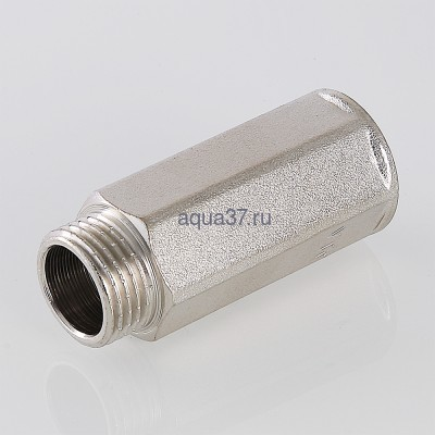 """Удлинитель 20 мм никелированный 1/2"""" Valtec (фото, вид 7)"""