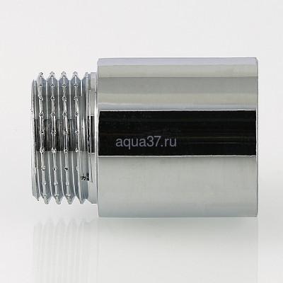 """Удлинитель 50 мм хромированный 1/2"""" Valtec (фото, вид 4)"""