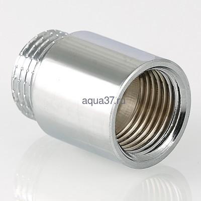"""Удлинитель 50 мм хромированный 1/2"""" Valtec (фото, вид 5)"""
