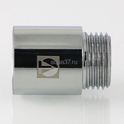 """Удлинитель 50 мм хромированный 1/2"""" Valtec (фото, вид 8)"""