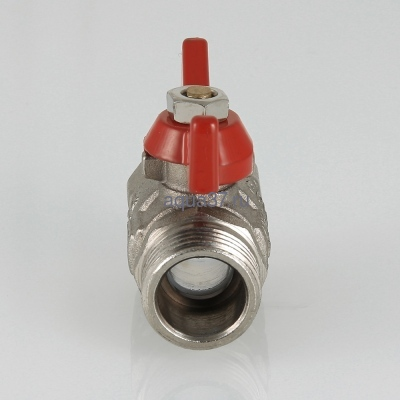"Кран шаровой 1/2"" г/ш бабочка Compact Valtec (фото, вид 2)"