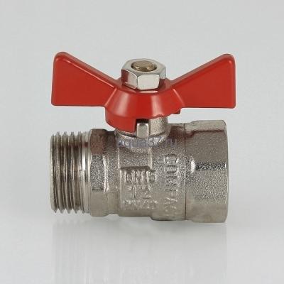 "Кран шаровой 1/2"" г/ш бабочка Compact Valtec (фото, вид 4)"