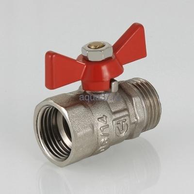 "Кран шаровой 1/2"" г/ш бабочка Compact Valtec (фото, вид 7)"