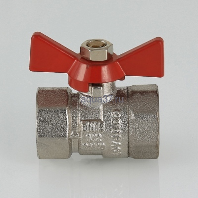 "Кран шаровой 3/4"" г/г бабочка Compact Valtec (фото, вид 4)"