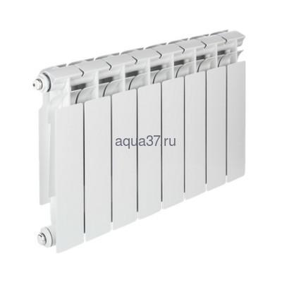 Радиатор биметаллический Tenrad 350/80 8 секций (фото, вид 1)