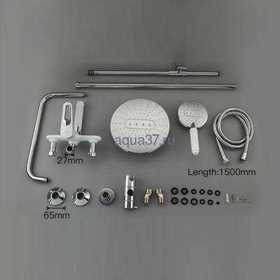 Душевая система Frap F2449 (фото, вид 8)