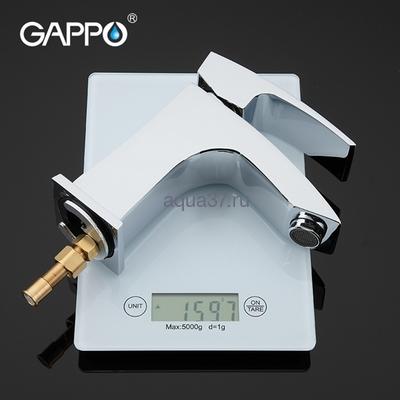 Смеситель для раковины Gappo G1207 (фото, вид 4)