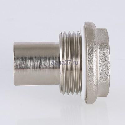 """Удлинитель потока для радиатора левый 1/2"""" Valtec (фото, вид 3)"""