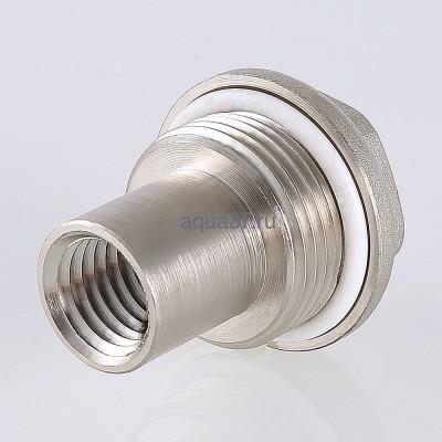 """Удлинитель потока для радиатора левый 3/4"""" Valtec (фото, вид 2)"""