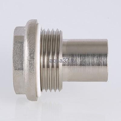 """Удлинитель потока для радиатора левый 3/4"""" Valtec (фото, вид 7)"""