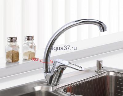 Смеситель для кухни Frap F4104-2 (фото, вид 8)